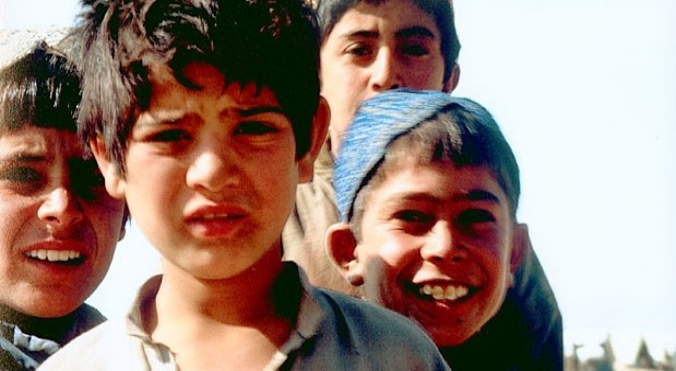 Afghan refugee children in Pakistan